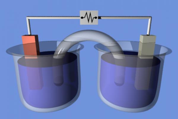 Открытие электрохимического соединения