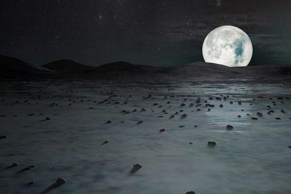 Загадочная луна Европа