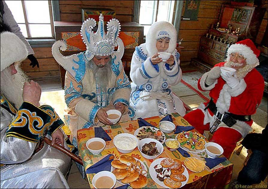 Тувинский Дед Мороз получит свою резиденцию