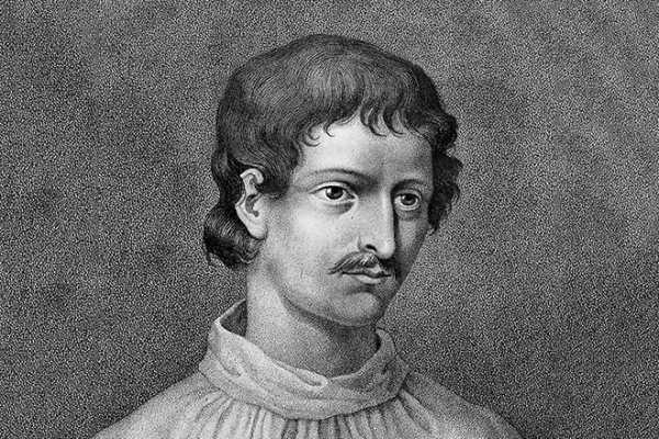 Свободомыслящий Джордано Бруно был изгнан из монахов и ни во что не ставил работы Аристотеля