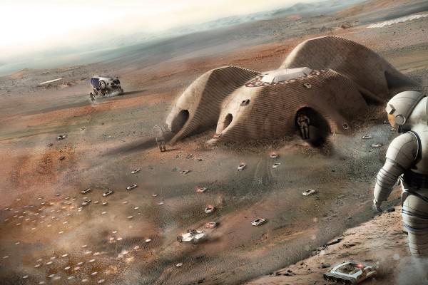 Обеспечение астронавтов пищей по пути к Марсу - трудная задача