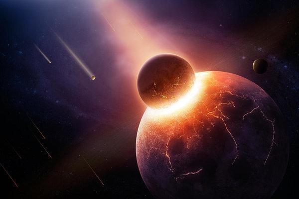 Выдвинута новая гипотеза возникновения Луны