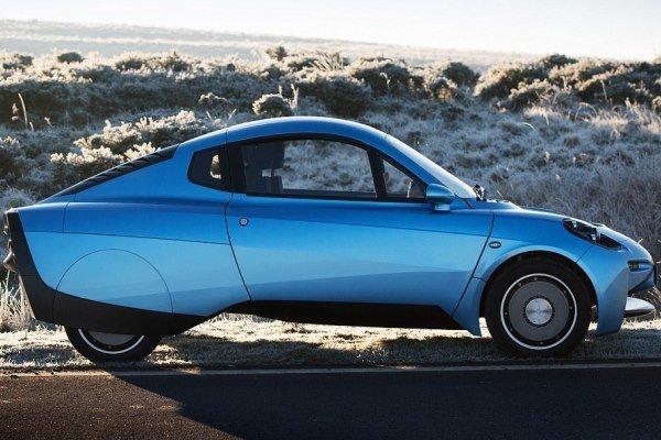 В Великобритании изобрели водородный автомобиль Rasa