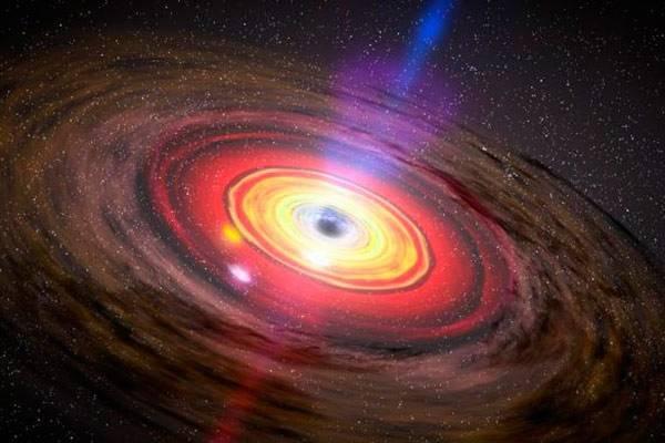 Калифорнийские ученые: ветра черных дыр воздействуют на галактики