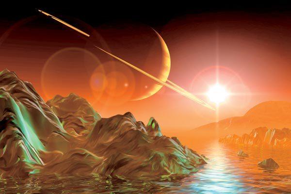 Виртуальные прогулки по морю Титана