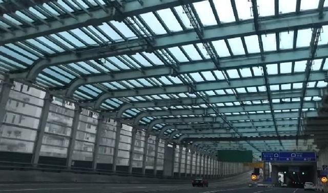В Гонконге запустили автомобильный туннель стоимостью более 4,5 млрд долларов