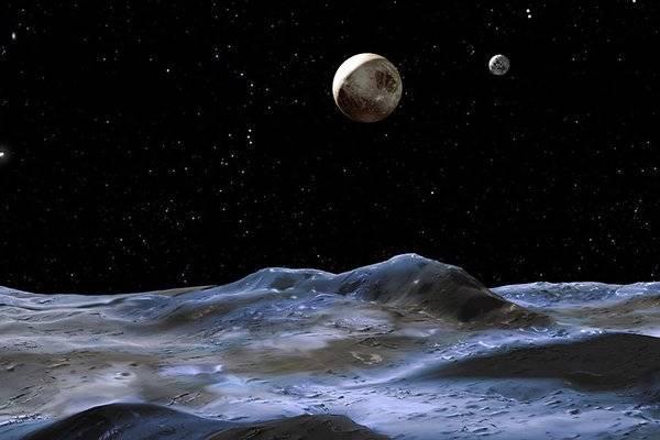 Метан не даёт замерзнуть воде на Плутоне