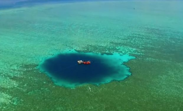 Огромная голубая дыра обнаружена в Китае