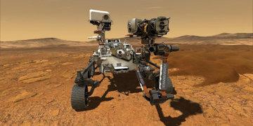 Curiosity обнаружил на Марсе необычный блестящий камень