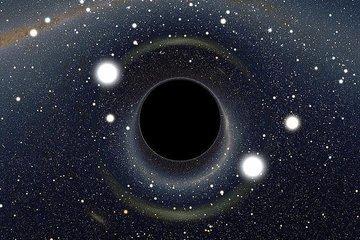 Большие черные дыры помогли вырасти маленьким
