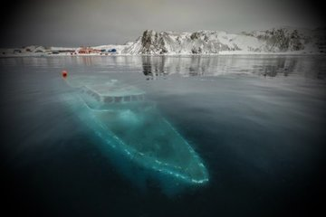 Затерянный корабль Шеклтона может лежать на дне Антарктиды в море Уэдделла