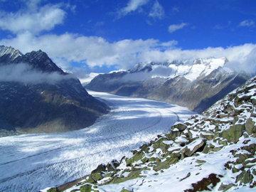 Крупнейший ледник в Альпах может исчезнуть к 2100 году